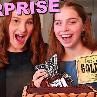 The $1000 surprise inside cake!