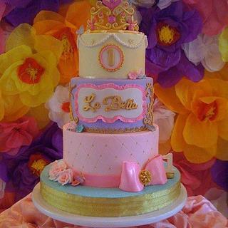 La Bella cake - Cake by tessatinacakes