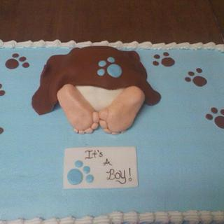 babys booty  - Cake by CC's Creative Cakes and more...