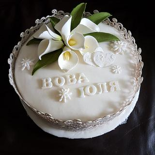 wedding cake callas - Cake by Sweets by Marta
