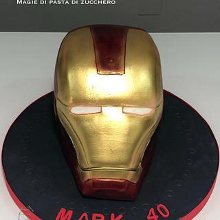 Iron man  - Cake by Mariana Frascella