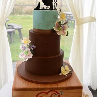 Easter Spring Wedding Cake