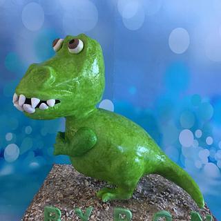 Dinosaur - Cake by Elke Potter