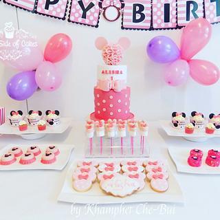 Alisha's 1st Birthday