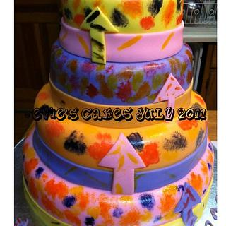 Shake It Up Cake