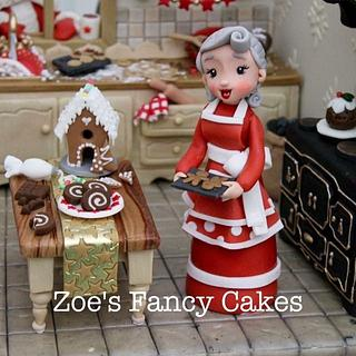 Mrs Clause's Cake