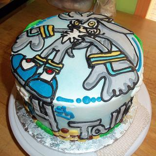 Tallon's 4th - Cake by Jennifer C.
