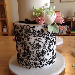 Sharon Wee double barrel cake