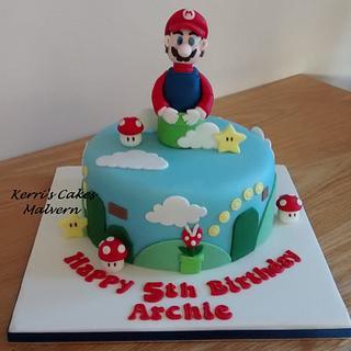 Super Mario! - Cake by Kerri's Cakes