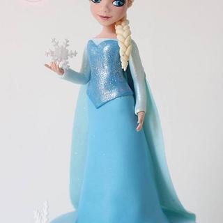 Queen Elsa Topper