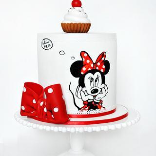 mini mouse cake - Cake by Alina Vaganova
