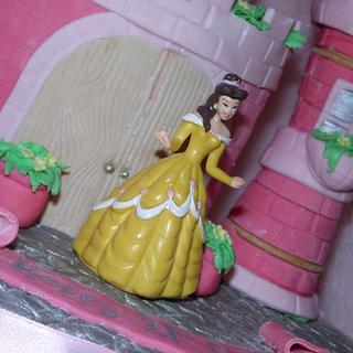 Princess Castle Cake for a 21st - Cake by emma