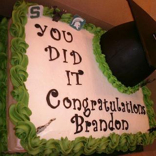 Graduation! - Cake by Donna Pope-Johnson