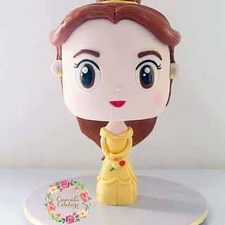 Belle of Beauty and the Beast cake