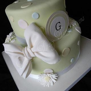 Pastel Gerber daisy Baby Shower