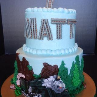 Matt's Horseshoe Bend train