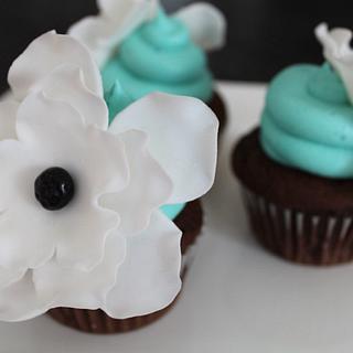 Fantasy Flower Cupcakes