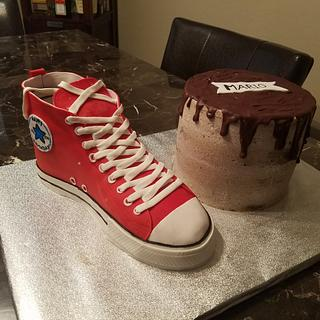 Shoe cake - Cake by Sonia