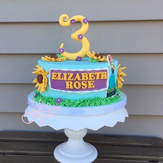 Frozen Summer - Cake by Jolirose Cake Shop