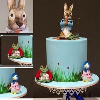 Peter Rabbit & Friends cake