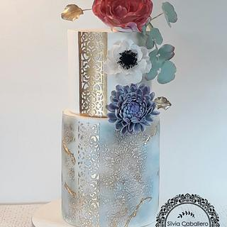 Cake for a special birthday
