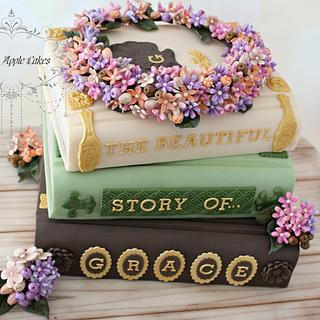 The magic world of books ~ cake