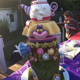 Is This Wonderland?? - Cake by ChrisJack1