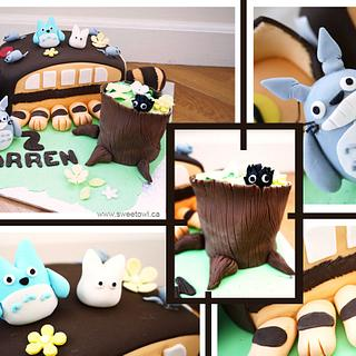 Totoro bus cake - Cake by Sweet Owl Cake and Pastry