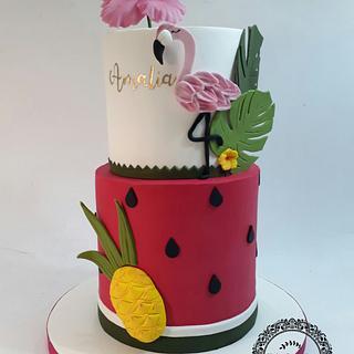 Tropical cake!