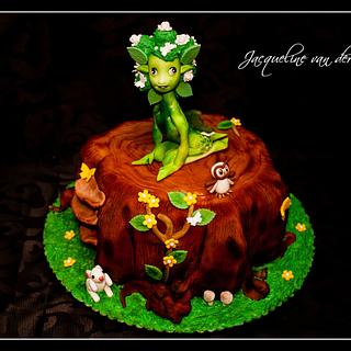 Forest Fairy Cake made with love - Cake by Jacqueline