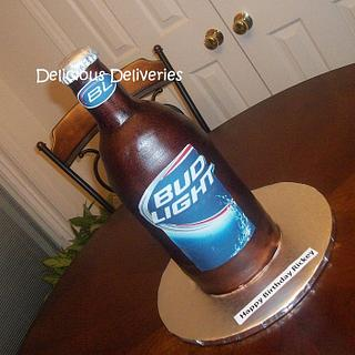 Bud Light Cake - Cake by DeliciousDeliveries