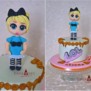 """LOL """"doll"""" cake"""