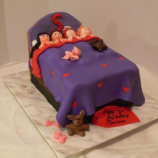 Slumber Party - Cake by Dessert By Design (Krystle)