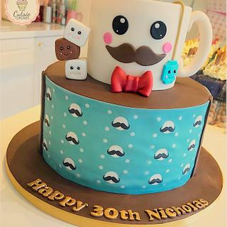 Tea Lovers Cake ☕️ - Cake by Cutsie Cupcakes