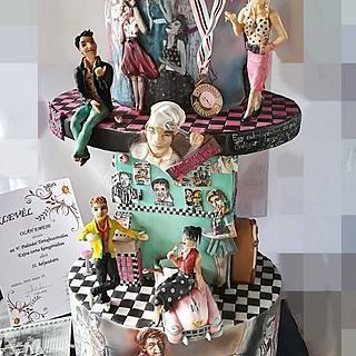 Made in Hungária Cake  - Cake by EmyCakeDesign