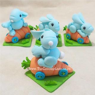 Blue Sugar Bunnies