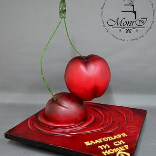 Cherry Cake - Cake by Mina Avramova