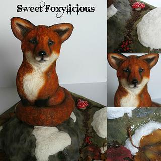 Luna the Fox!