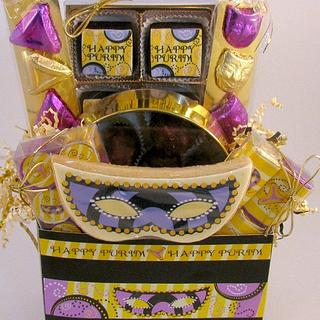Mask Theme Gift Package - Cake by Cheryl