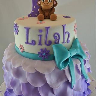 Baby's 1st Birthday  - Cake by Amanda