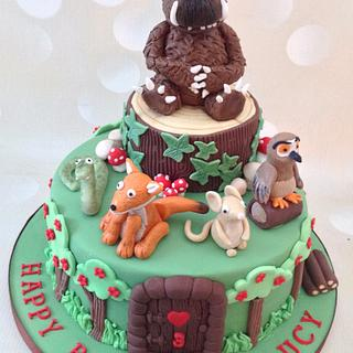 Gruffalo and Friends Birthday cake