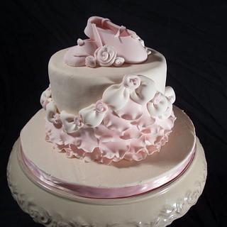 Baby Ballet Cake