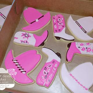 Cowgirl Cookies - Cake by Sugar Sweet Cakes