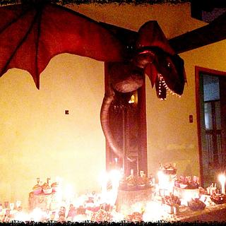 Drogon Cake - GOT themed party