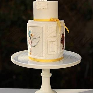 Hand-painted Picture Book Gallery Cake