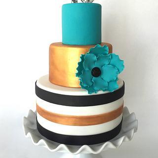 Doodle birthday cake - Cake by Dakota's Custom Confections
