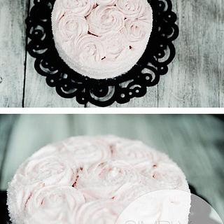 rosette cake - Cake by Reni Hendra