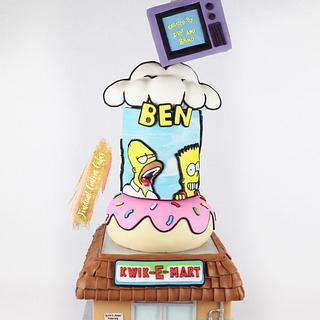 The simpsons - Cake by Tabi Lavigne