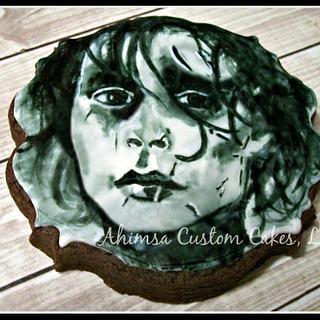 Edward Scissorhands cookie
