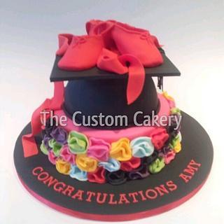 Ballet Graduation Cake